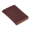 Dickies Lunenburg Leather Card Holder Dark Brown  100% buffalo leather