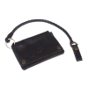 Dickies Barren Springs Leather Wallet Black With Key Chain  100% buffa