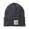 Carhartt Carhartt Rib Knit Beanie Watch, Coal Heather One Size Fits Al