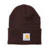 Carhartt Carhartt Rib Knit Beanie Watch, Dark Brown One Size Fits All