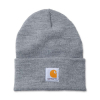 Carhartt Carhartt Rib Knit Beanie Watch, Heather Grey One Size Fits Al