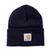 Carhartt Carhartt Rib Knit Beanie Watch, Navy One Size Fits All