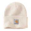 Carhartt Carhartt Rib Knit Beanie Watch Winter White One Size Fits Mos