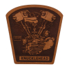 Loser Machine Knuckle Leather Patch