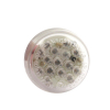Micro Disc Led Taillight  CLEAR LENS ROUND WITH M6 BOLT ECE APPROVED N