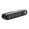 Led Taillight Shorty, Smoke Lens  ECE APPROVED 40MM WIDE X 8MM HIGH X