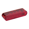 Led Taillight Shorty, Red Lens  ECE APPROVED 40MM WIDE X 8MM HIGH X 13