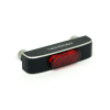 Conero Led Taillight Black, Red Lens  RED LENS BLACK ANODIZED CONTRAST