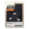 Colony Acorn Nuts  CHROME PLATED M10 (1 25)