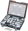 Drag Specialties Socket-Head Bolt Assortment Unf Smooth Chrome Unf Smt