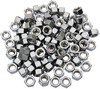 Drag Specialties Hex Nut 3/8-24 Chrome 3/8-24 Chrome Hex Nut