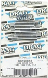 Drag Specialties Chrome Socket-Head Cam Cover Bolt Kit Smooth Smth S-H