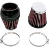 K&N Air Fil Clamp-On Ex500 Universal Filter Set (2) Oval Tapered